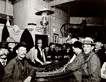Gather round ye' olde craps table...